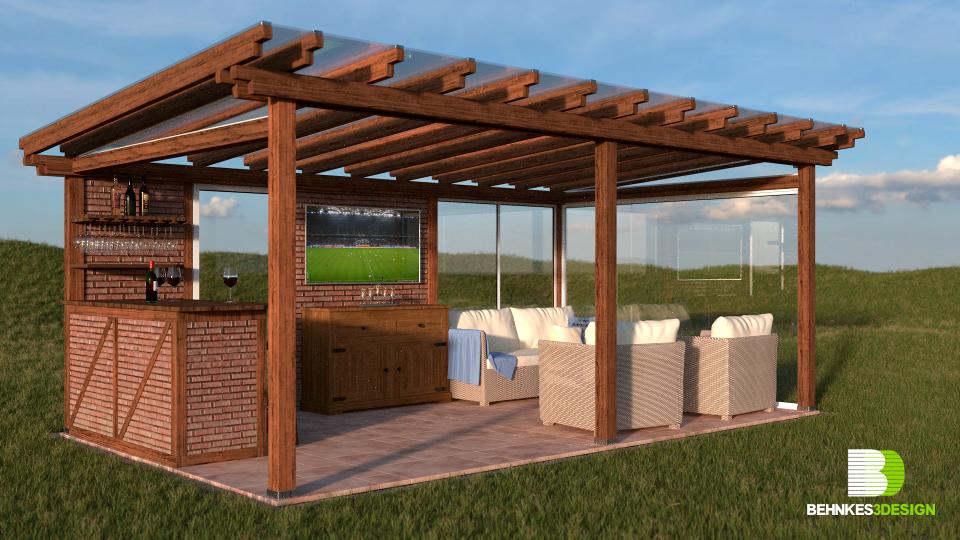 Behnkes3design Portfolio Rustikale Terrasse